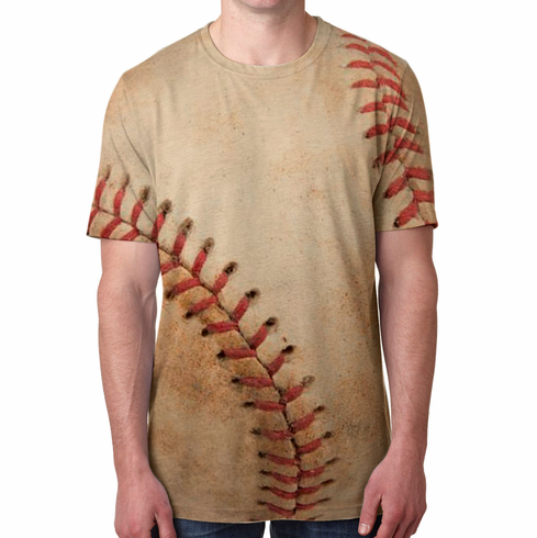 Old Baseball Limited Edition Sublimated T-Shirt<br>Adult S-2X