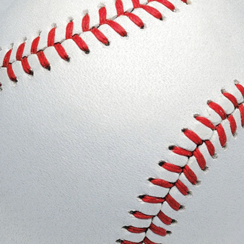 White Baseball Scrapbook Pages