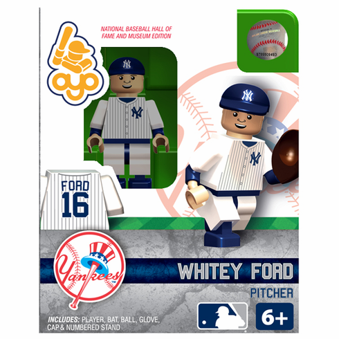 Whitey Ford New York Yankees Hall of Fame OYO Mini Figure