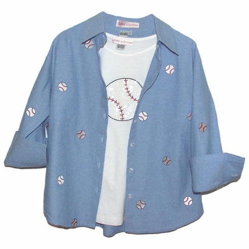 Women's Baseball Apparel Collection by Casey Coleman