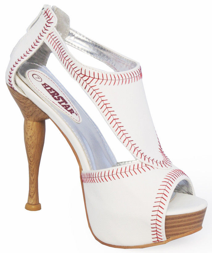 Women's Size 10 Baseball Heels<br>ONLY 1 PAIR LEFT!
