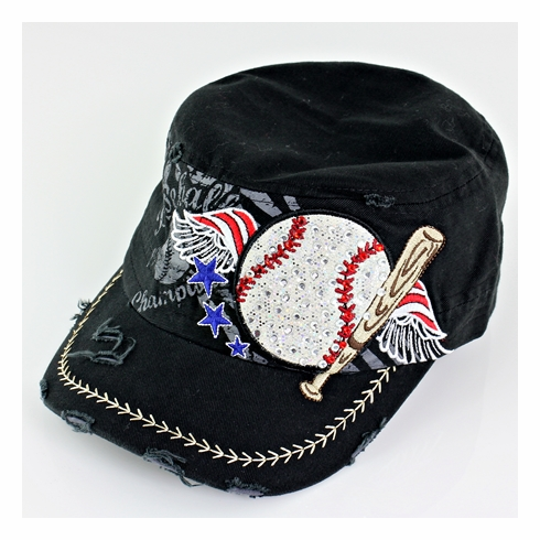 Women's Black Vintage Baseball Hat<br>LESS THAN 4 LEFT!
