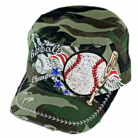 Women's Camo Vintage Baseball Hat