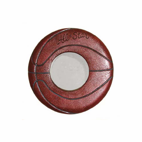Wooden All-Star Basketball Mirror