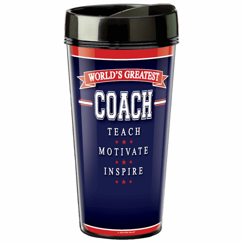 World's Greatest Coach 16oz Insulated Tumbler