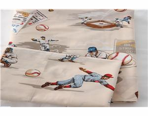 World Series Baseball Twin Sheet Set<br>ONLY 1 LEFT!