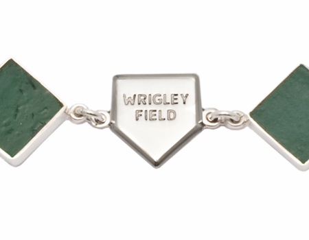 Wrigley Field Baseball Stadium Ballpark Bracelet<br>ONLY 1 LEFT!