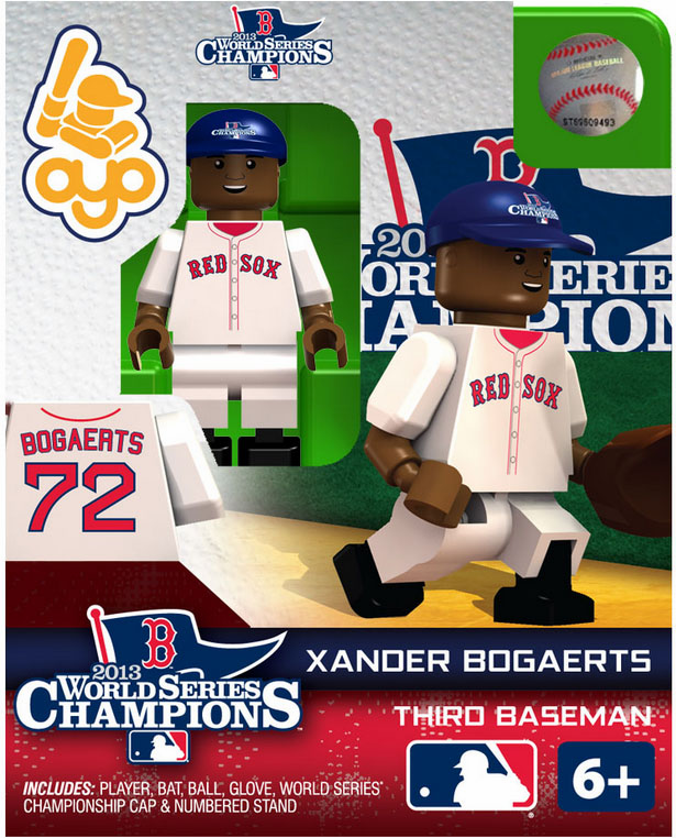 Xander Bogaerts Boston Red Sox 2013 World Series Champions OYO Mini Figure