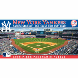 Yankee Stadium New York Yankees 1000pc Panoramic Puzzle
