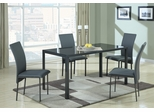 103740 Contemporary  5PC Dining Table & Chair Set - 103741