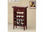 16 Bottle Wine Rack with Serving Tray Top - 100164