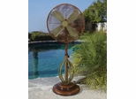 "18"" Deco Adjustable Outdoor Standing Fan- Deco Breeze - DBF0622"