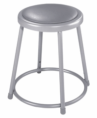 "18"" Lab Stool with Padded Seat - National Public Seating - 6418"
