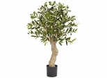 2.5' Olive Silk Tree - Nearly Natural - 5331
