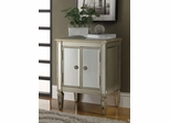 2 Door Cabinet in Antique Silver - 950214