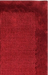 2-Piece Bath Rug Set in Wine - Naples - 38242