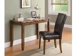 2-Piece Faux Marble Writing Table & Chair Set - 800783
