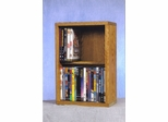 2 Row Dowel 40 Capacity DVD Cabinet Tower - 215-12