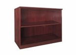 2 Shelf Bookcase in Sierra Cherry - Mayline Office Furniture - VB2CRY