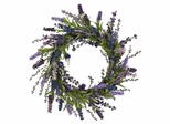 """20"""" Lavender Wreath - Nearly Natural - 4785"""