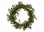 """20"""" Olive Wreath - Nearly Natural - 4773"""