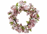 """24"""" Cherry Blossom Wreath - Nearly Natural - 4783"""