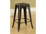 "24"" Counter Height Stool in Black - Set of 2 - 103059K"