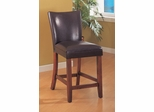 24 Inch Bar Stool (Set of 2) in Brown - Coaster