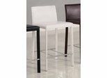 24 Inch Bar Stool (Set of 2) in White - Coaster
