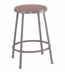 """24"""" Lab Stool with Hardboard Seat - National Public Seating - 6224"""