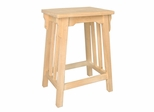 "24"" Mission Counter Stool - S-324"
