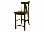 "24"" San Remo Counter Height Stool in Java - S15-102"