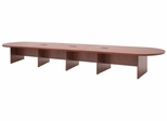 """288"""" Modular Race Track Conference Table with Data/ Power Port - ROF-LCTRT28852"""