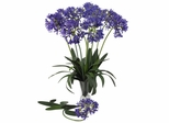 """29"""" African Lily Stem (Set of 12) - Nearly Natural - 2129-PP"""