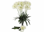 """29"""" African Lily Stem (Set of 12) - Nearly Natural - 2129-WH"""