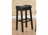 "29"" Bar Stool (Set of 2) in Brown Cherry - Coaster - 120520-SET"