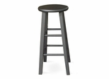 "29"" Roundtop Stool in Black - 1S46-430"