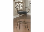 "29"" Scrolled Metal Barstool - 102586"