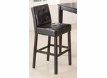 "29"" Upholstered Cappuccino Bar Stool - Set of 2 - 102576"