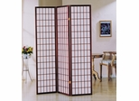 3-Panel Cherry Wood Screen - Naomi - 02277