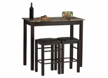 3-Piece Tavern Set - Linon Furniture - 02859SET-01-KD-U