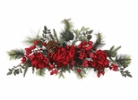 "30"" Holiday Hydrangea Swag - Nearly Natural - 4679"