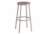 "30"" Lab Stool with Hardboard Seat - National Public Seating - 6230"