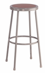 """30"""" Lab Stool with Hardboard Seat - National Public Seating - 6230"""