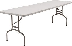 """30"""" x 96"""" Folding Table - National Public Seating - BT-3096"""