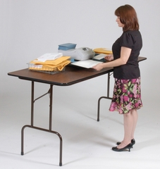 """36"""" Counter Height 5/8"""" Melamine Top Work Table 30x72 - Correll Office Furniture - CFS3072M"""