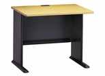 """36"""" Desk - Series A Beech Collection - Bush Office Furniture - WC14336"""