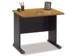 """36"""" Desk - Series A Natural Cherry Collection - Bush Office Furniture - WC57436"""