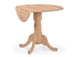 "36"" Dual Drop Leaf Table - T-36DP"