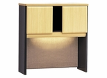 """36"""" Hutch - Series A Beech Collection - Bush Office Furniture - WC14337"""